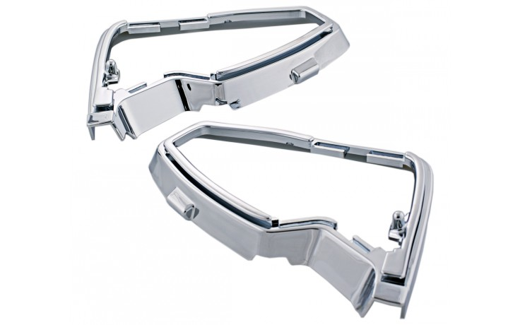 GL1500 88-00 Chrome Mirror Bases