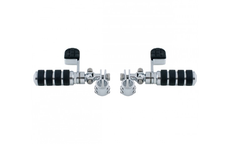 Comfort Peg w/Heel Rest and 1 inch Clamps