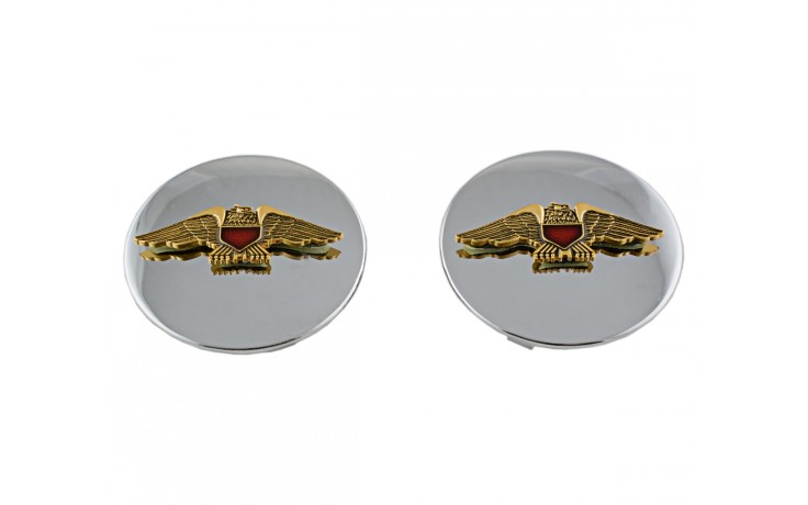 Swing Arm Caps W/emblem 11/1200