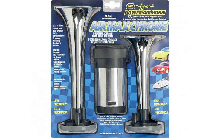 Chrome ABS Air Horns