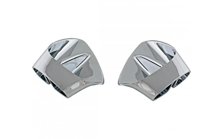 GL1800 Chromed Fairing Intake Grills
