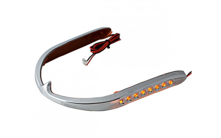 GL1800 01-17 LED Front Fender Trim