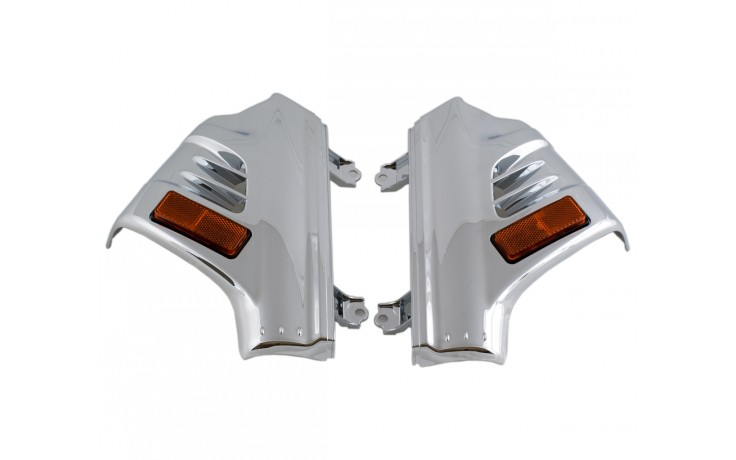 GL1800 Chrome Fork Covers