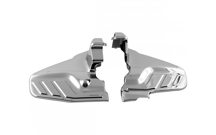 GL1800 Chrome Engine Lower Side Cover