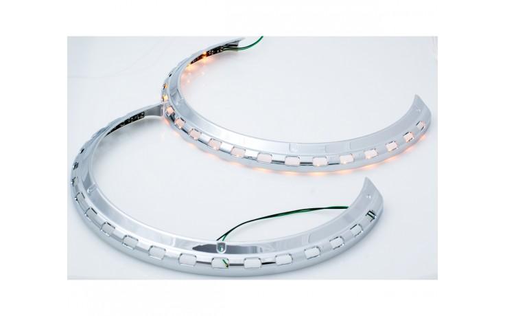 GL1500 Rotor Cover Light Rings w/Amber LED