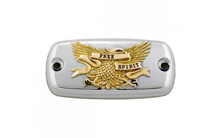 Master Cylinder Cover - Gold Eagle Free Spirit