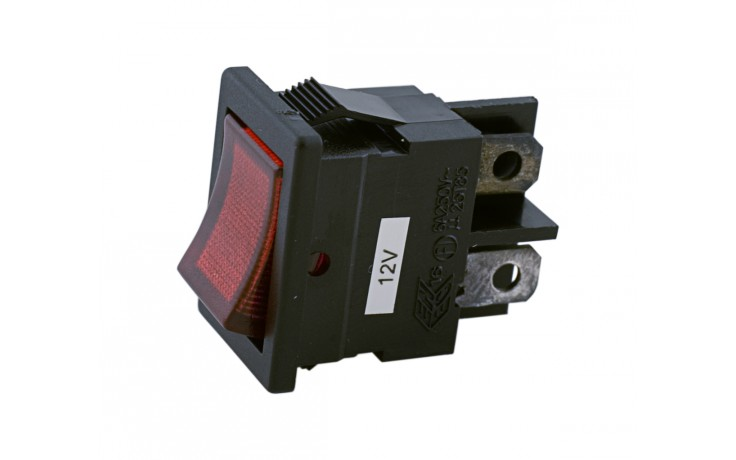 Red Rocker Switch