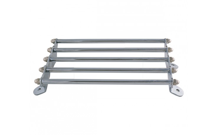 Trike Chrome Luggage Fender Rack