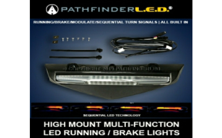 HIGH MOUNT MULTI FUNCTION LED BRAKE RUNNING LIGHT