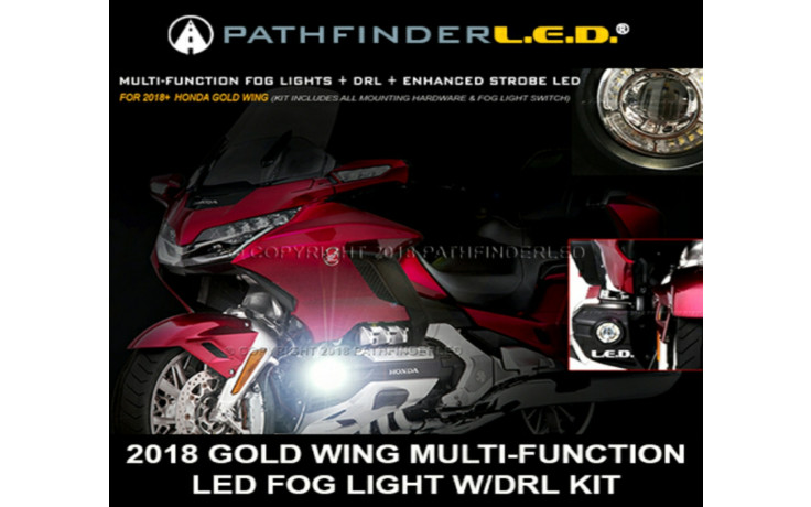 2018/2019 GOLD WING MULTI-FUNCTION FOG LIGHT KIT
