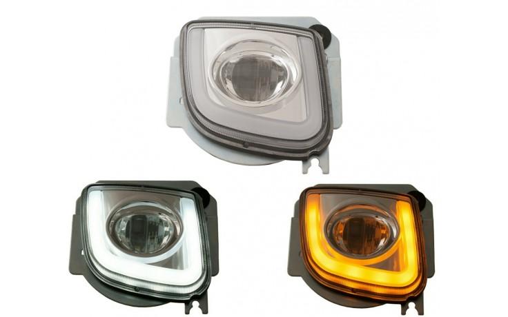 GL1800 12 & Up Rectangular LED Fog Lights Kit