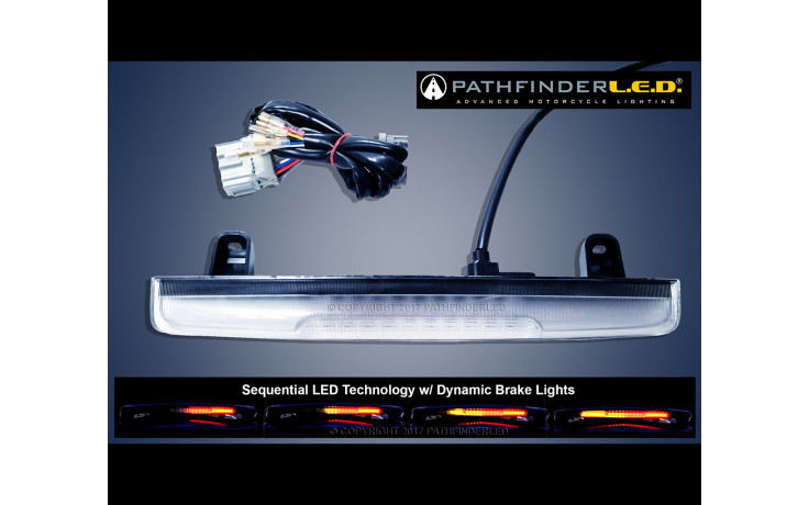 GL1800 12-17 Sequential LED Spoiler Light w/Dynamic B&R