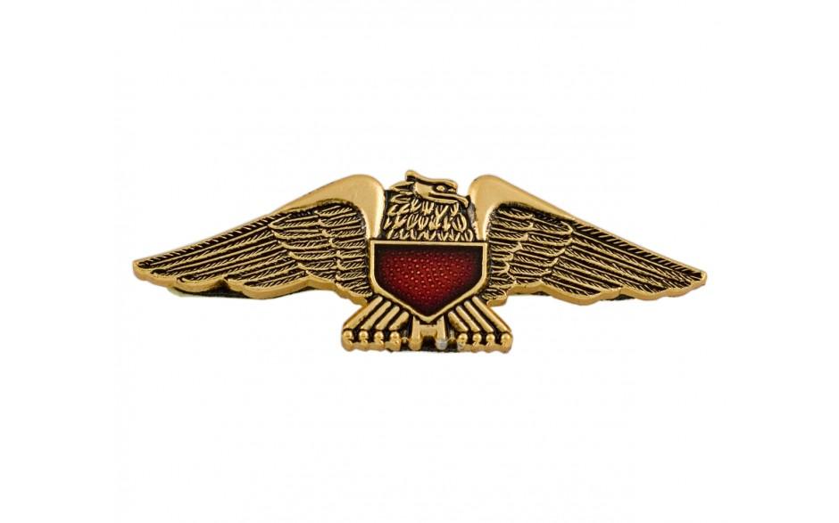 Gold Eagle Emblem w/Red Shield