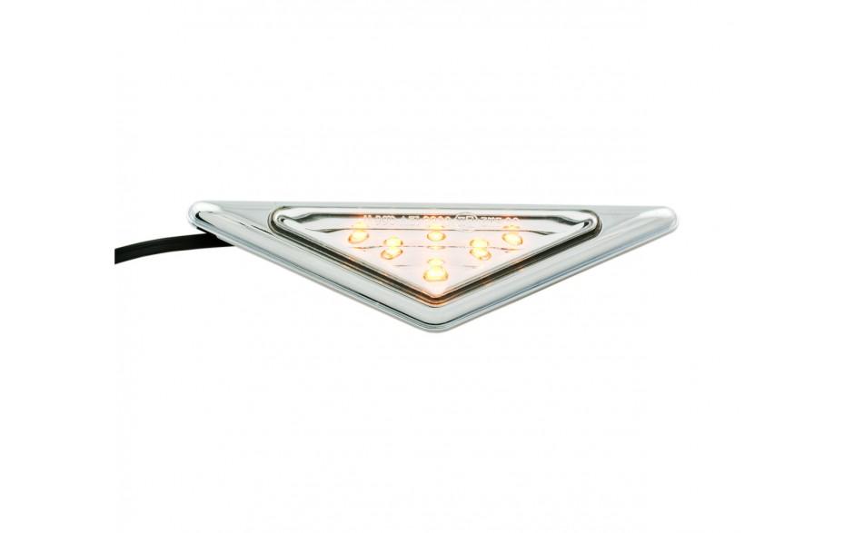 Amber LED Pyramid Side Marker Lights