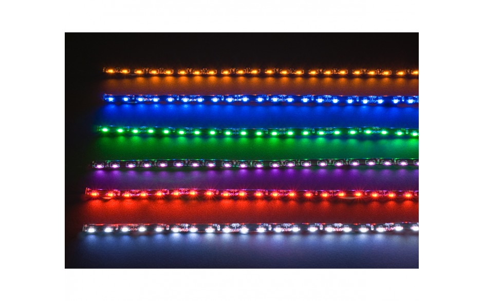 Amber Super Slim SMD LED Strip Light