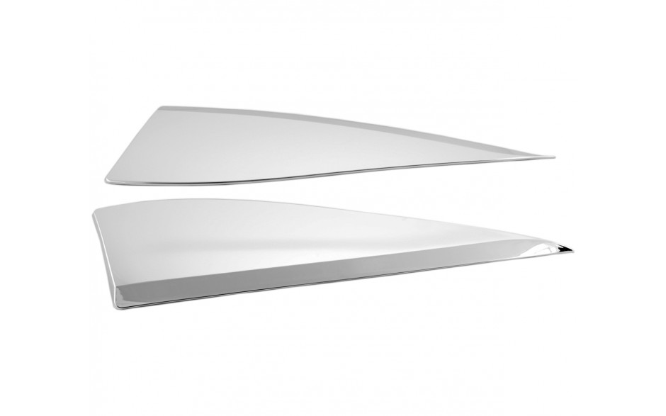 GL1800 Chrome Side Windshield Panel Accents