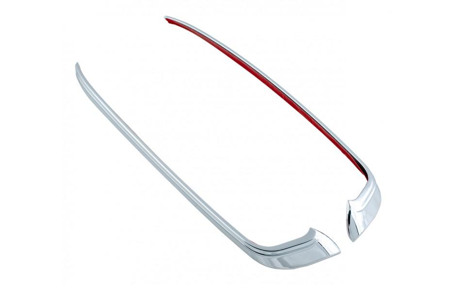 GL1800 Chrome Headlight Side Trims