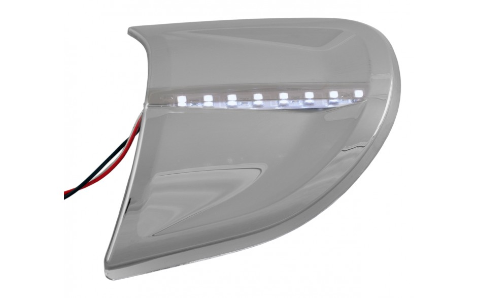 GL1800 Headlight Contour Trim White LED