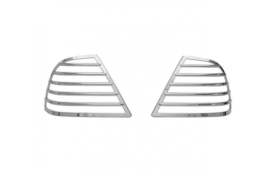 GL1800 Saddlebag Light Grills 5 Bar