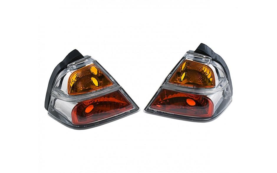 GL1800 Saddlebag Clear Brake Lights