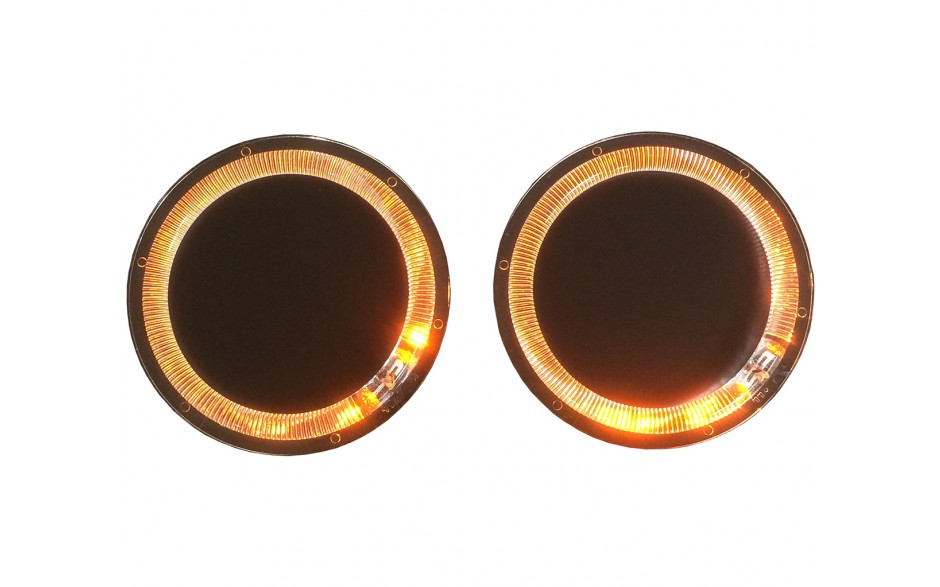 GL1800 01-12/GL1500 Angel Eye Amber Speaker Light Kit