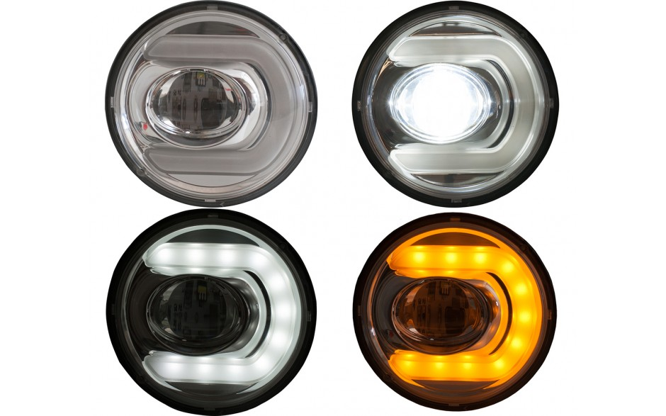 GL1800 01-10 LED Fog Light with DRTS