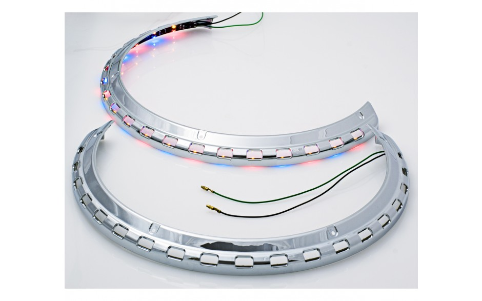 GL1500 Rotor Cover Light Rings with Amber Red Blue LED