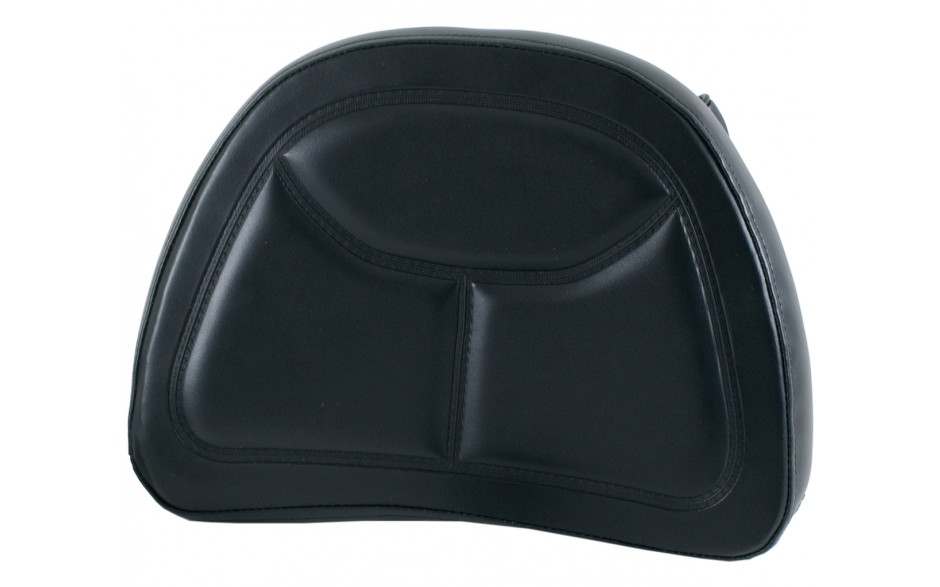 Black Backrest Pad with Pouch