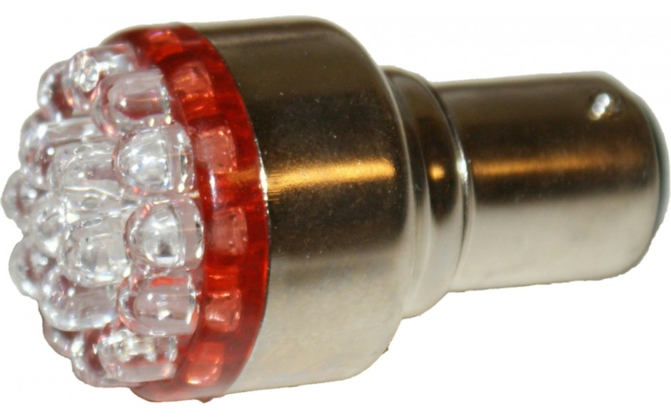 1157 LED Red Replacement Bulb Running/Brake