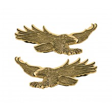 Gold Flying Eagle Emblem