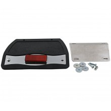 GL1500 Small Mud Flap w/Red LED