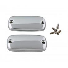 Chrome Master Cylinder Covers  - Plain