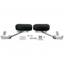 GL1800 01-17 Black Passenger Armrest