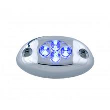 Blue 4 LED Courtesy Light
