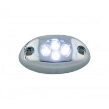 White 4 LED Courtesy Light