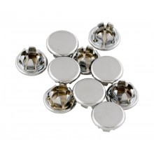Chrome Steel Plugs ¼ ""