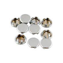 Chrome Steel Plugs ⅜ ""