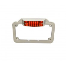 LED Chrome License Plate Frame