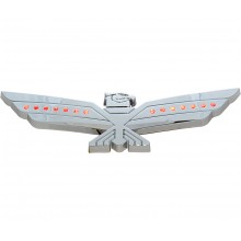 LED Red Lighted Chrome Eagle Emblem
