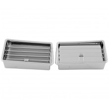 GL1800 01-10 Chrome Lower Air Vent Accents