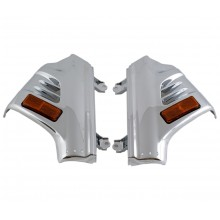 GL1800 Chrome Fork Covers Lighted
