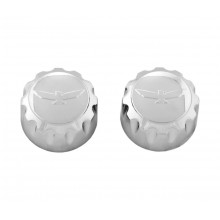 GL1800 12 & Up Chrome Radio Knobs