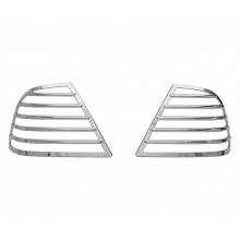 GL1800 Saddlebag Light Grills 5 Bar