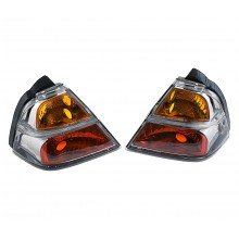GL1800 Saddlebag Clear Brake Lights
