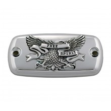 Master Cylinder Cover - Chrome Eagle Free Spirit