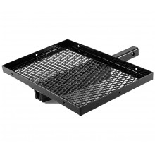 Adjustable Aluminum Cooler Rack- Black