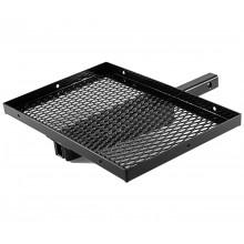 Adjustable Aluminum Cooler Rack- Black