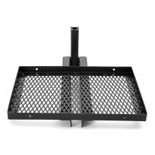 Aluminum Cooler Rack  - Vertical Black