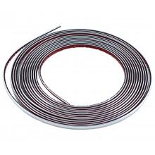 Silver Pinstripe