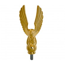 Gold Flag Pole Eagle 3 1/2 Inch
